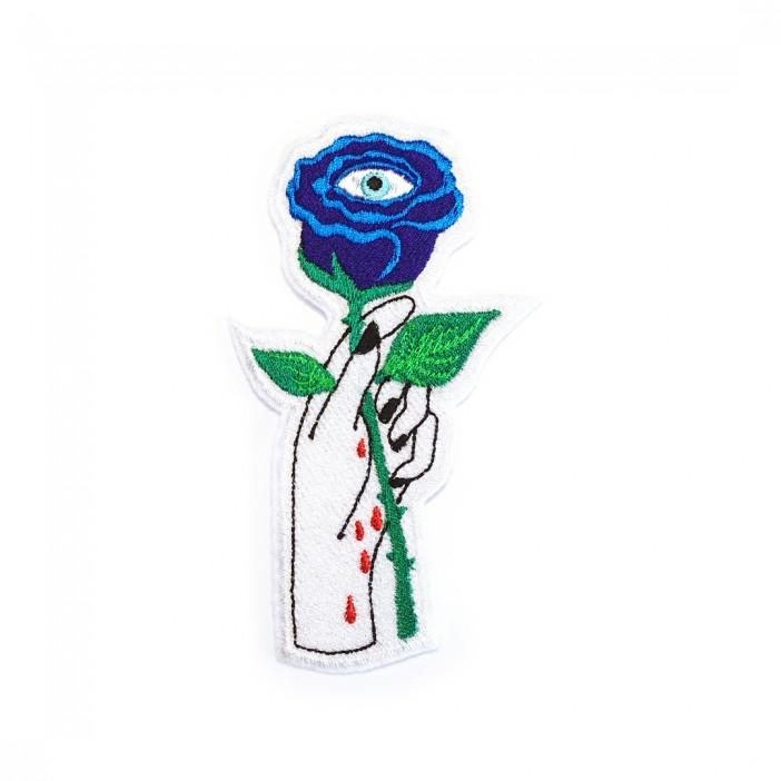 "Blue Rose Eye ""13x7 cm"""